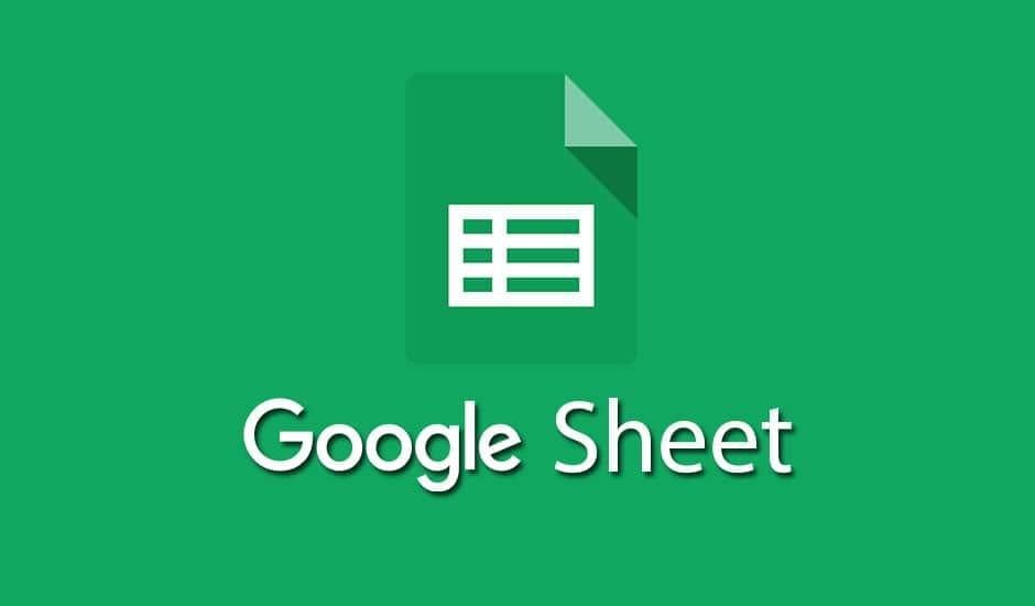 Google sheets para trabajos